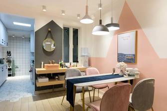 经济型60平米北欧风格餐厅装修案例