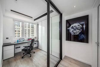 10-15万120平米三室一厅现代简约风格书房欣赏图
