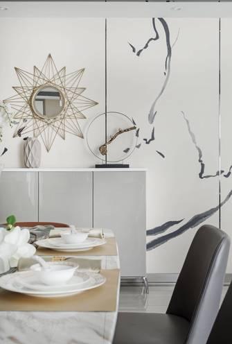 110平米三欧式风格客厅设计图