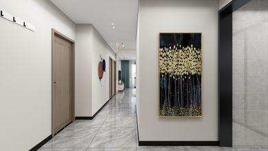 经济型80平米三室一厅轻奢风格走廊欣赏图