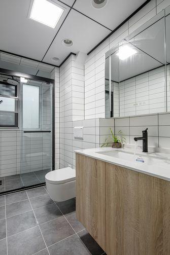 豪华型130平米三室两厅日式风格卫生间设计图