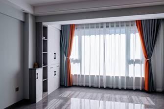 经济型90平米三室两厅现代简约风格阳台装修效果图