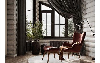 120平米三室一厅现代简约风格阳台装修案例
