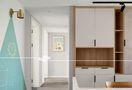 10-15万140平米三室两厅北欧风格走廊设计图