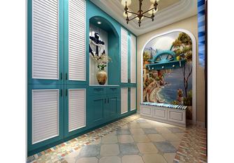 20万以上140平米别墅地中海风格玄关图片大全
