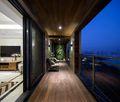 130平米三北欧风格阳台图片大全