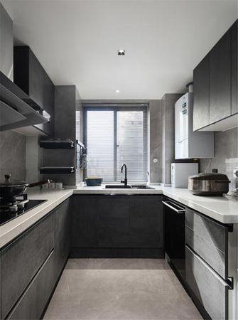 富裕型140平米三现代简约风格厨房设计图