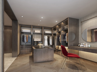 富裕型140平米三室两厅轻奢风格梳妆台效果图