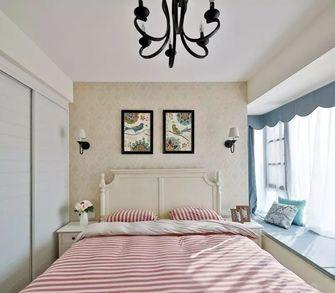 富裕型120平米三美式风格卧室装修效果图