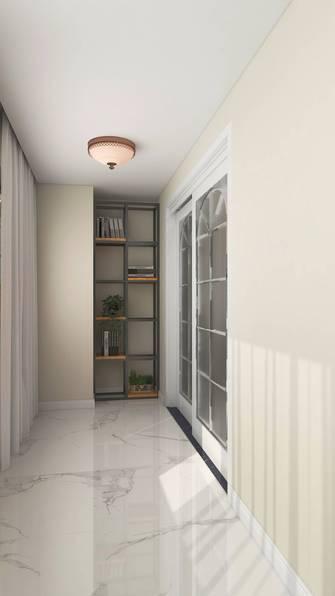 140平米三室两厅欧式风格阳台图