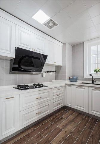 富裕型100平米三室两厅美式风格厨房图