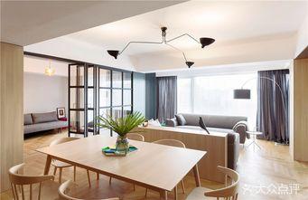 富裕型100平米三室一厅日式风格餐厅欣赏图