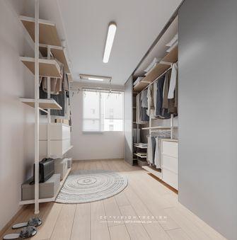 110平米三室一厅日式风格衣帽间装修案例