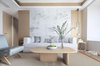 15-20万110平米三室两厅中式风格客厅装修案例