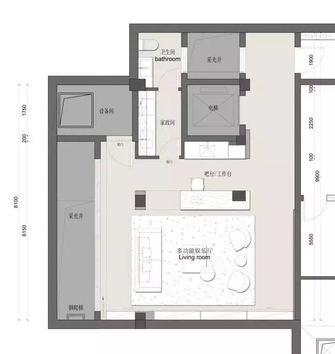 三中式风格客厅效果图