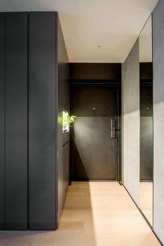 经济型90平米三室一厅现代简约风格玄关装修效果图