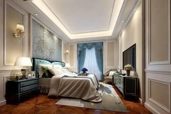 20万以上140平米别墅欧式风格卧室欣赏图