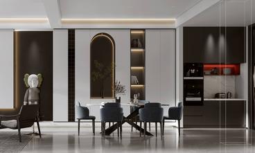豪华型140平米别墅英伦风格餐厅图