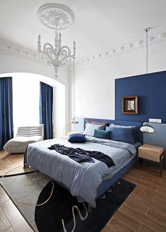 富裕型140平米三室两厅法式风格卧室图片