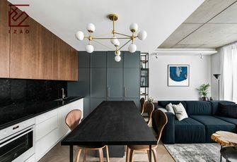 富裕型120平米复式北欧风格餐厅欣赏图