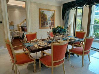 富裕型120平米三室两厅欧式风格餐厅图片大全