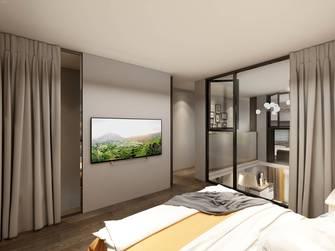 经济型轻奢风格卧室装修效果图