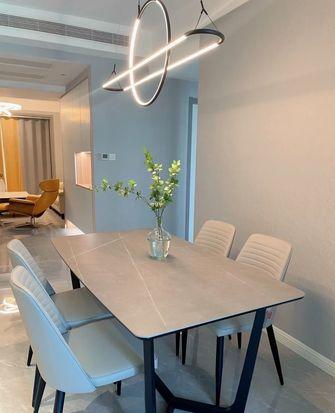 15-20万120平米三室一厅轻奢风格餐厅图片