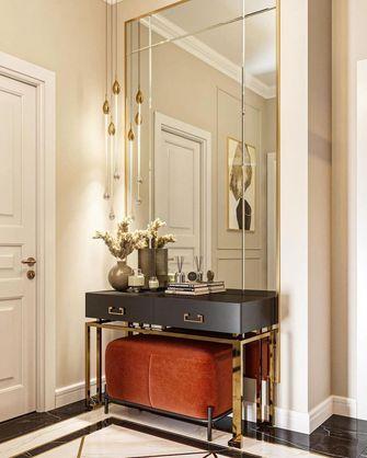 富裕型120平米三室两厅轻奢风格玄关图