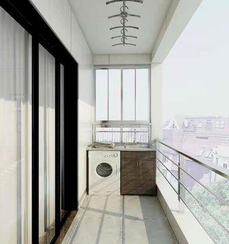 10-15万120平米三室一厅现代简约风格阳台欣赏图