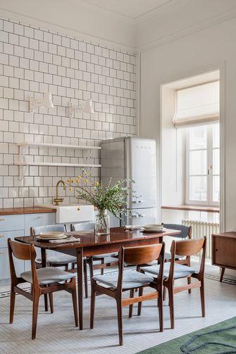 3-5万50平米公寓新古典风格餐厅图