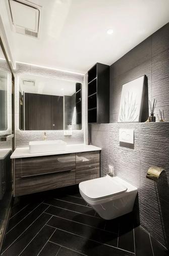 富裕型140平米复式美式风格卫生间装修效果图