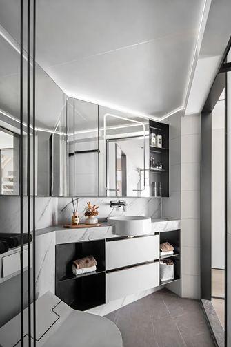 富裕型100平米三室三厅现代简约风格卫生间欣赏图
