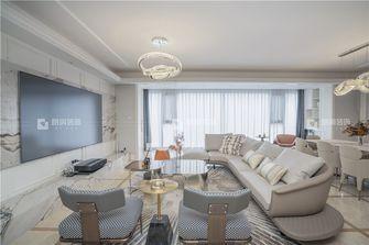 20万以上140平米复式法式风格客厅图