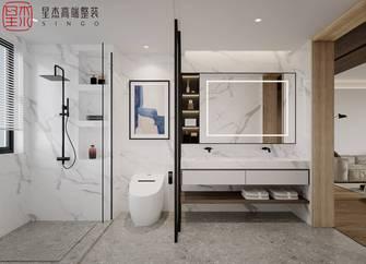 豪华型140平米四室两厅混搭风格卫生间设计图