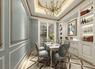 140平米复式美式风格餐厅效果图