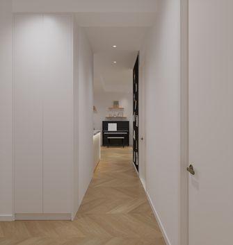 富裕型110平米三室一厅日式风格走廊图片