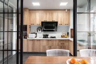 3万以下130平米四室两厅北欧风格厨房图