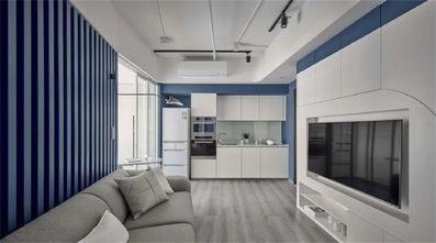 经济型50平米一室一厅现代简约风格厨房图