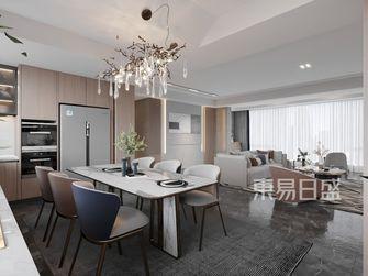 豪华型140平米别墅现代简约风格餐厅图片