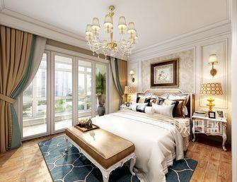 20万以上140平米别墅混搭风格卧室图