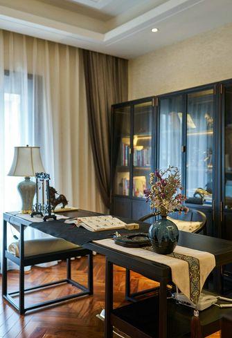 豪华型140平米别墅中式风格书房装修图片大全