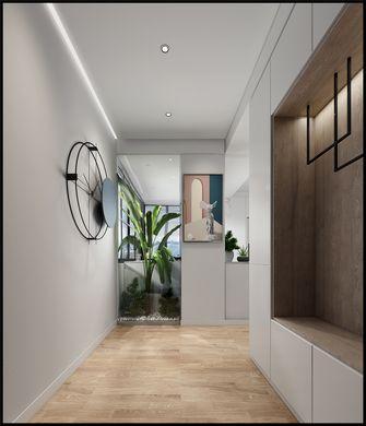 富裕型140平米三室四厅现代简约风格玄关图