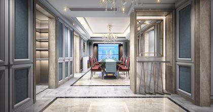 经济型120平米三室两厅东南亚风格客厅设计图