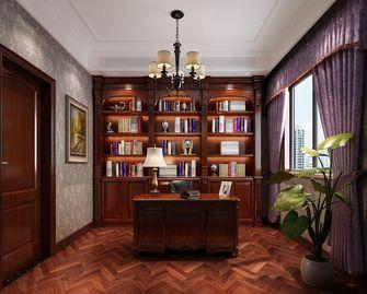20万以上130平米三室两厅欧式风格书房装修效果图