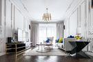 豪华型140平米三室一厅法式风格客厅装修图片大全