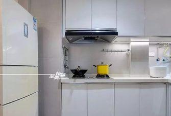 富裕型三室两厅北欧风格厨房装修图片大全