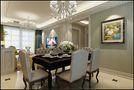 15-20万120平米三室一厅欧式风格餐厅装修效果图