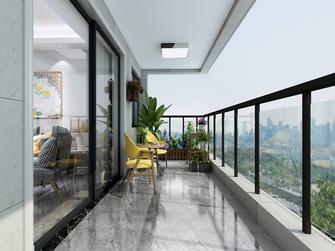 豪华型130平米四室两厅北欧风格阳台设计图