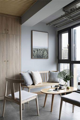 140平米四室三厅现代简约风格阳台装修图片大全