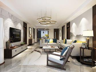 140平米四室三厅混搭风格客厅装修图片大全